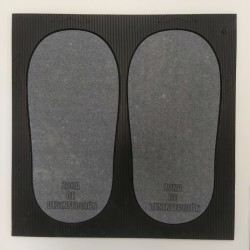 Small mountable disinfectant mat