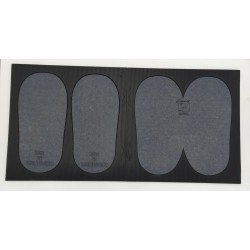 Pack 2 small mountable disinfectant mats