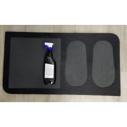 Horizontal Disinfectant Mat plus Disinfectant Liquid