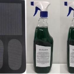 Sanitizing mat plus 2 bottles of environmental sanitizer
