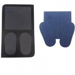 Disinfecting mat with replacement