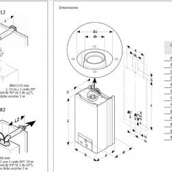 Opalia F-14 gas heater low Nox