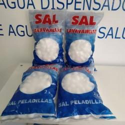 8 Kgs pack of peeled salt for softeners