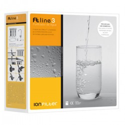 FT-Line 3 Carbon GAC water filter with tap