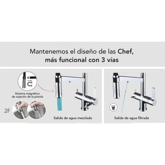 Chef WT 19 3-way tap