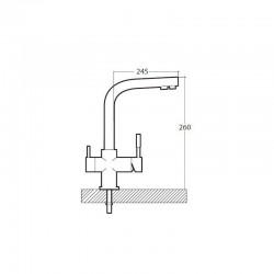 Rider Reverse Osmosis 4-Way Faucet
