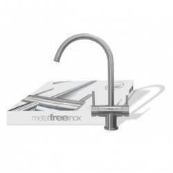 Ares 3 Way Faucet MetalFree Inox