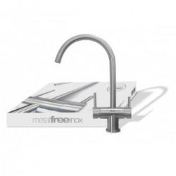 Ares 3 Way Faucet MetalFree Inox