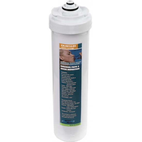 Winny 2 QCC water filters and carbon post-filter