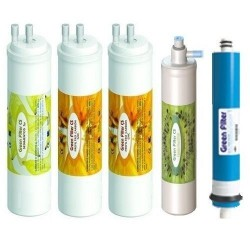 4 CS filters with GAC carbon post-filter and membrane