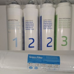 Pack 4 Logic Aqua Filters plus membrane