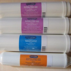 Pack 4 In-Line Classic compact filters plus membrane