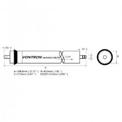 Vontron 75 GPD membrane