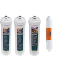 Winny 3 QCC water filters and carbon post-filter